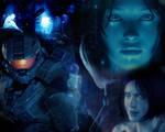 Cortana Tribute (Wallpaper)
