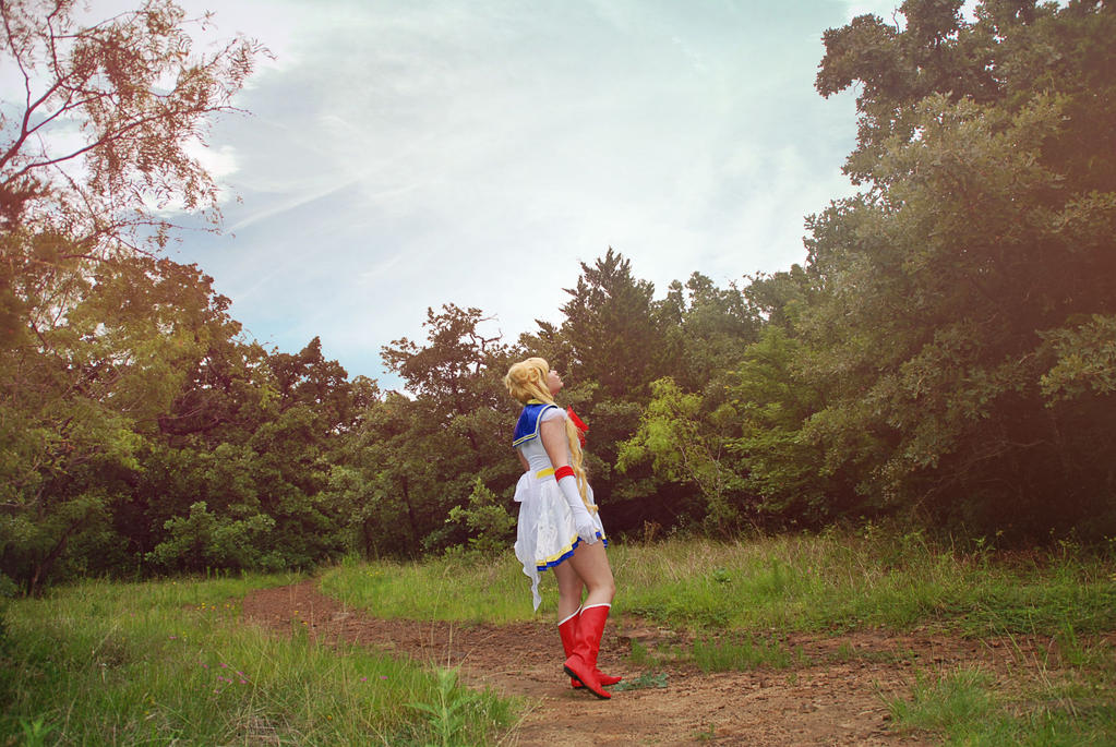 I am Sailor Moon by UltraViolet1197