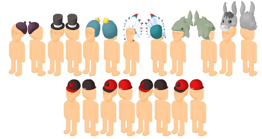 Nuevos Peinados y Peluches Moar_hats___by_z0mb13s-d2zna3u