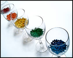 Copas de colores by alucinogenos
