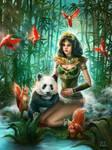 Druid girl basic by LexPaul