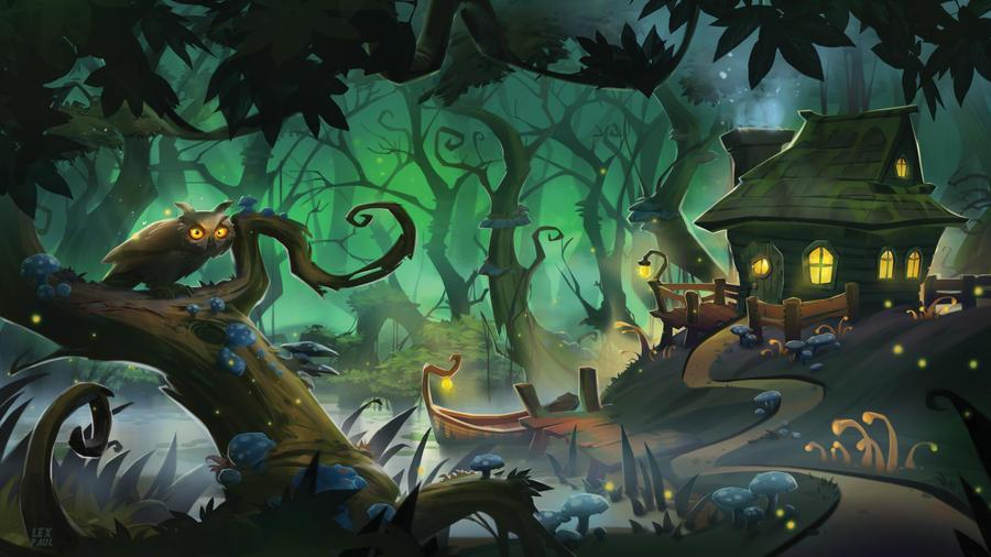 Swamp enviro by AlexandrescuPaul