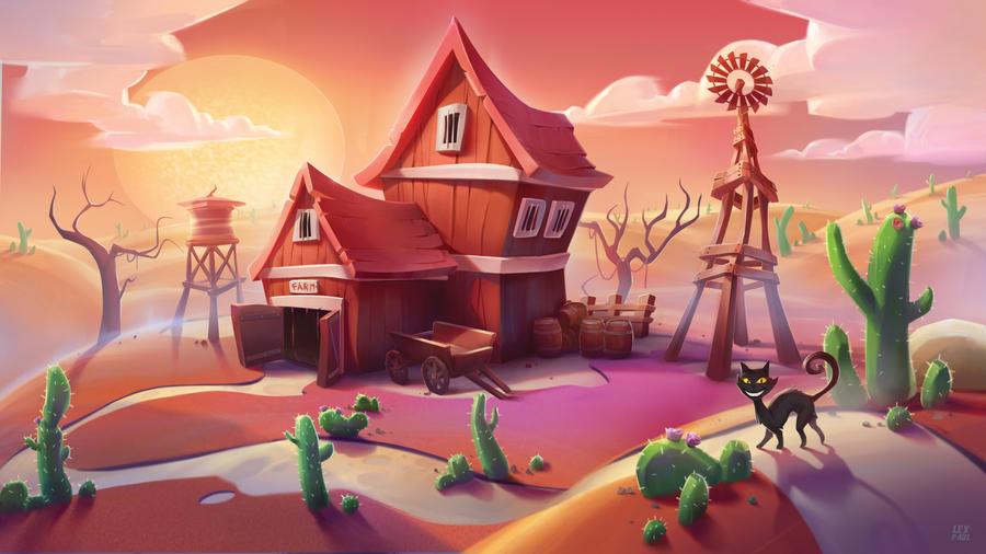 Farm final by AlexandrescuPaul
