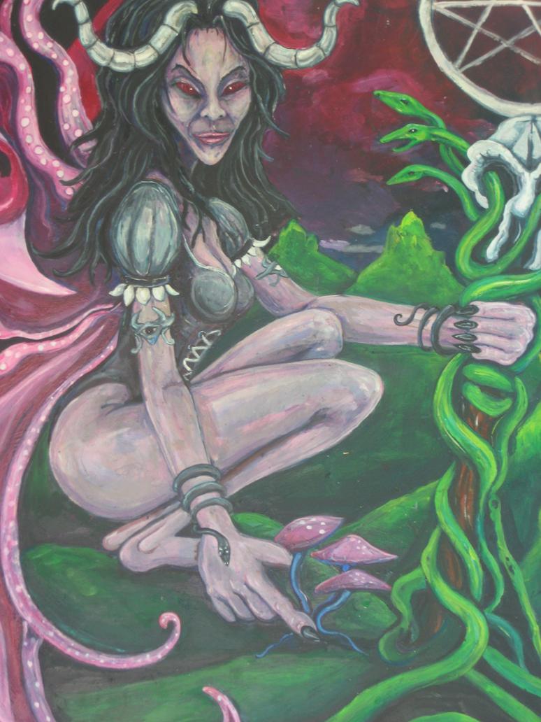 princess of disks persephone by RAGGASCORMOUS