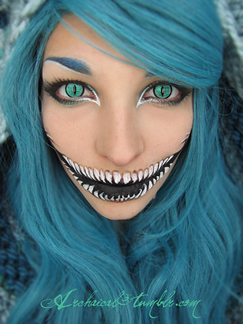 TB Cheshire make-up by Archaical
