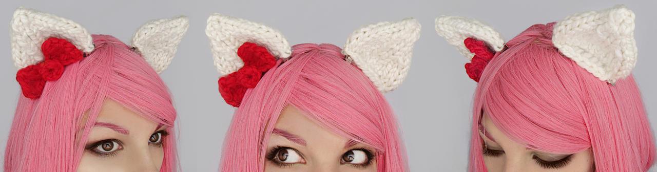 Hello Kitty clip-on ears by Archaical