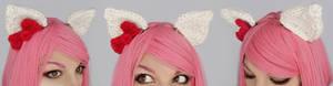 Hello Kitty clip-on ears