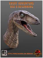 Jurassic Park Origins promo 002 by GIU3232