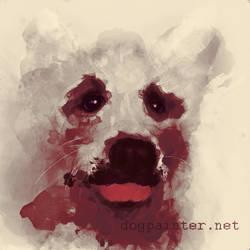 Deep Dream Doggo by WildebeestNinetyNine