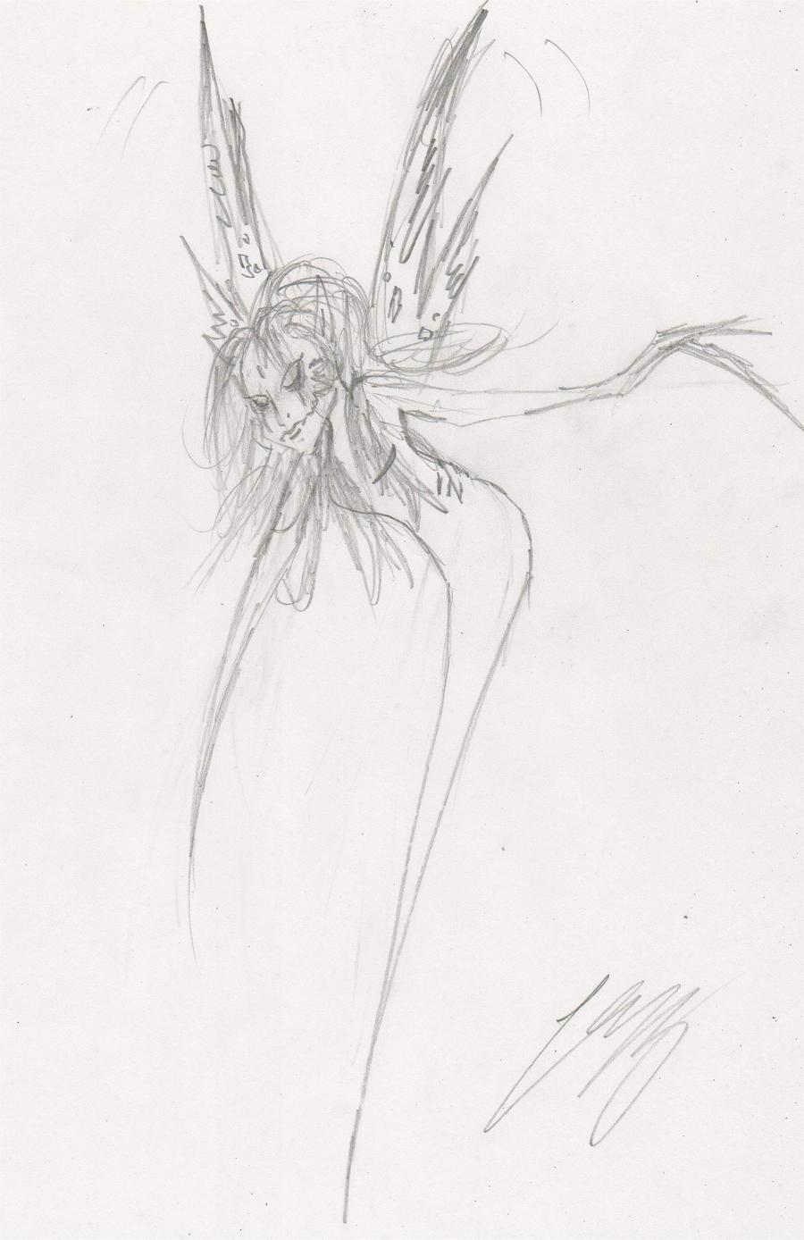 Evil fairy by leyzy on DeviantArt