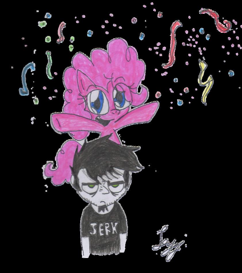 Dan Y Pinkie by leyzy