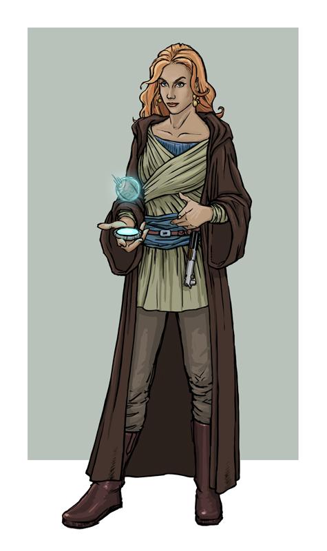 Mara Jade Skywalker by SoCalTrojan