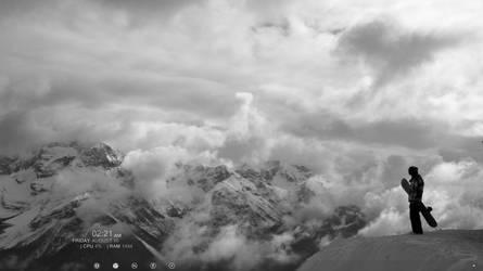 mountain by kiskaktusz