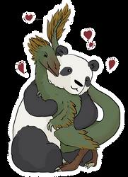 Raptor und Panda