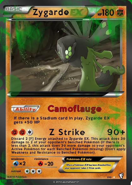 HoloLucario's Zygarde EX Card | The PokeGym