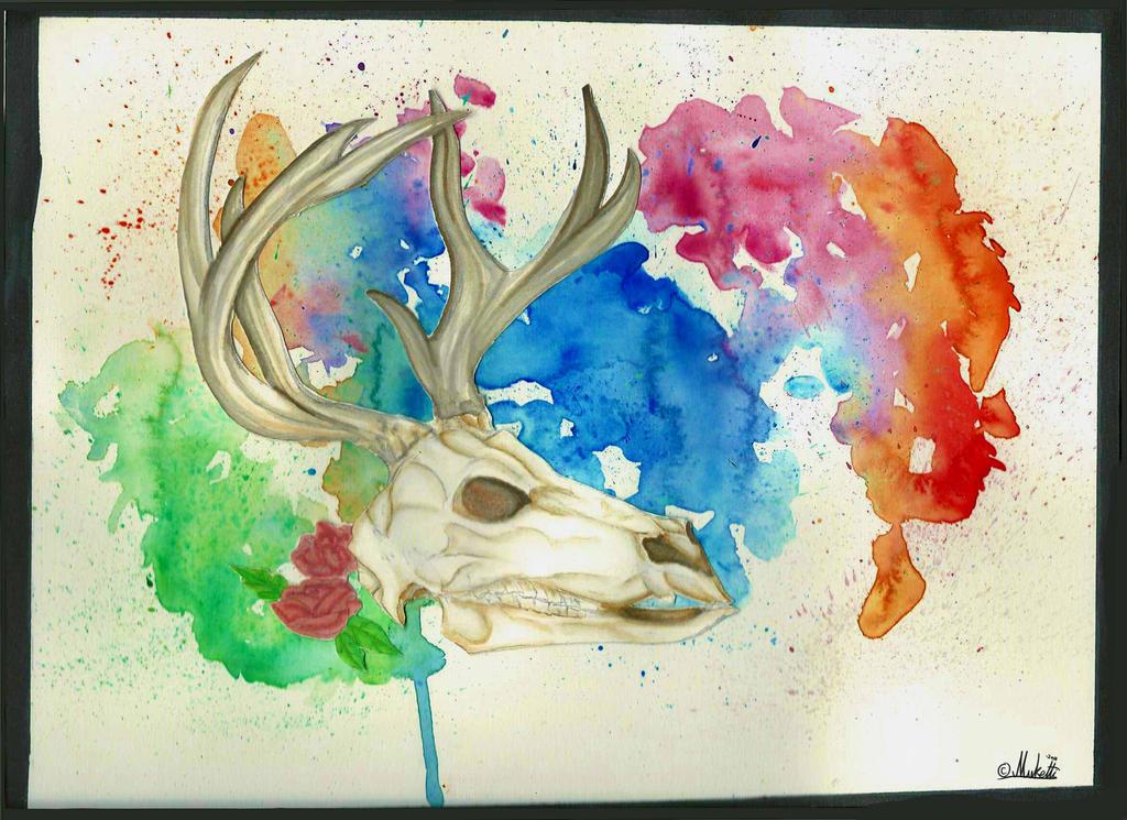 Skull by Muketti
