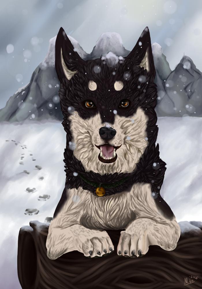 Snow doggie by Muketti