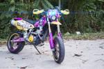 Suzuki DRZ400SM - Cyan Itansha