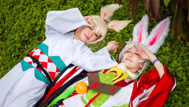 Yamausagi and Usagimaru Cosplay