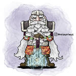 Dungeons and Dragons Hill Dwarf Cleric
