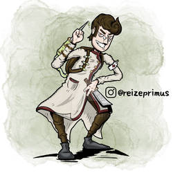 Dungeons and Dragons Human Undying Warlock