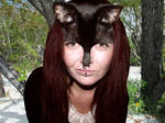 Gothic Cat Woman