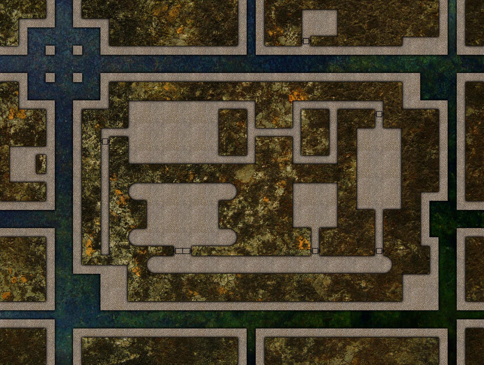 Sewer Dungeon Battlemap
