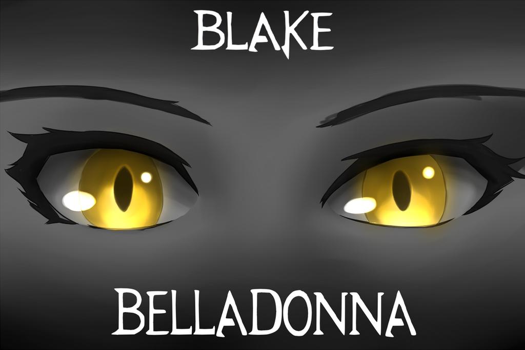 belladonna in eyes