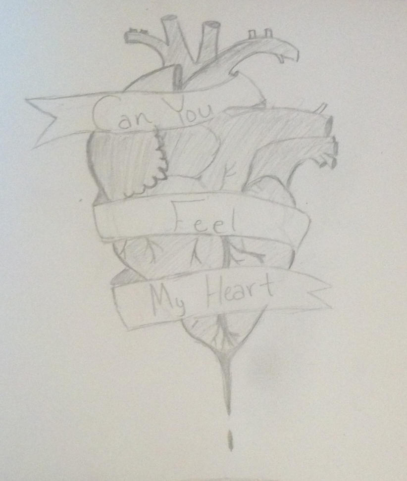 can you feel my heart bmth by pickachupencilartist on