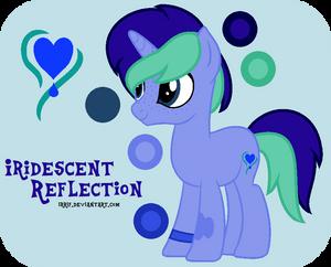Iridescent Reflection