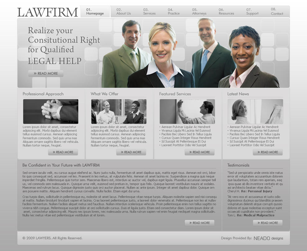 LAWFIRM by neadodesigns