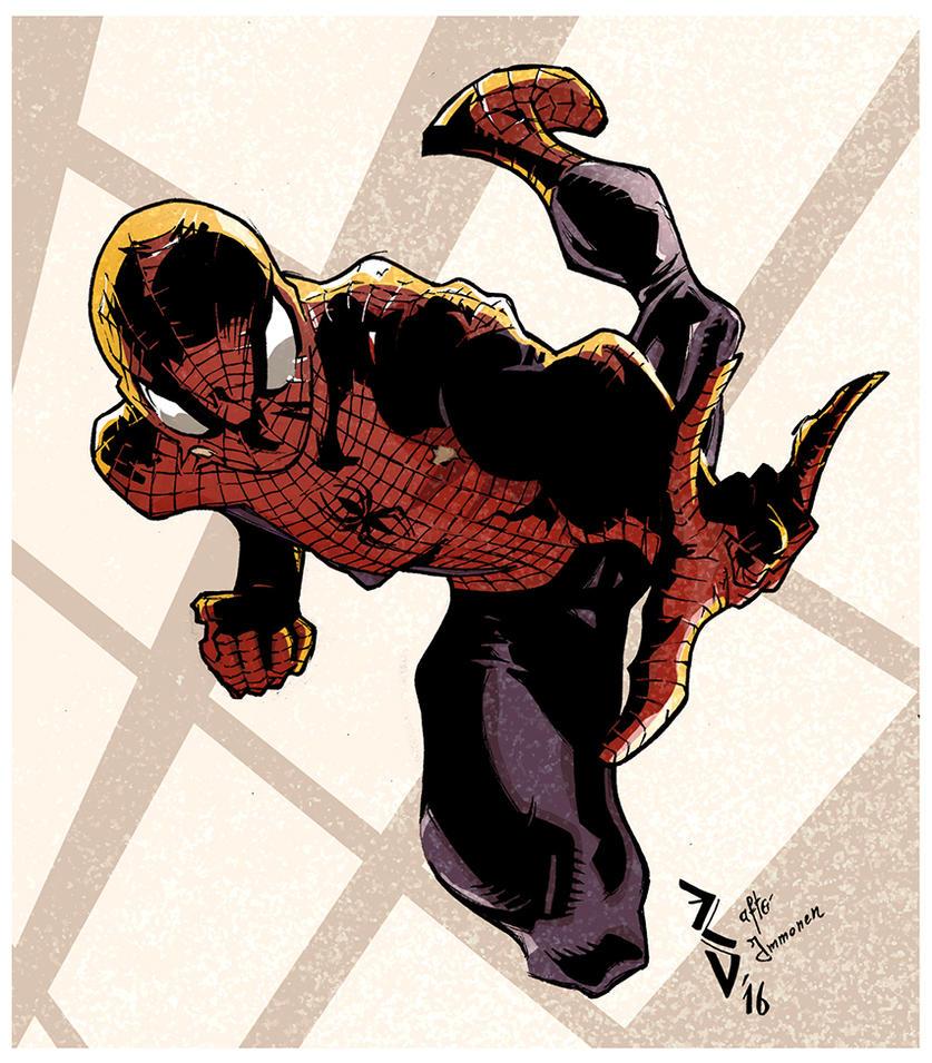 Spiderman _SketCH #41 by ErolDebris