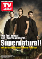 Supernatural TV Guide Cover