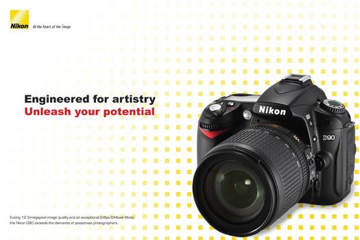 Nikon D90 Ad