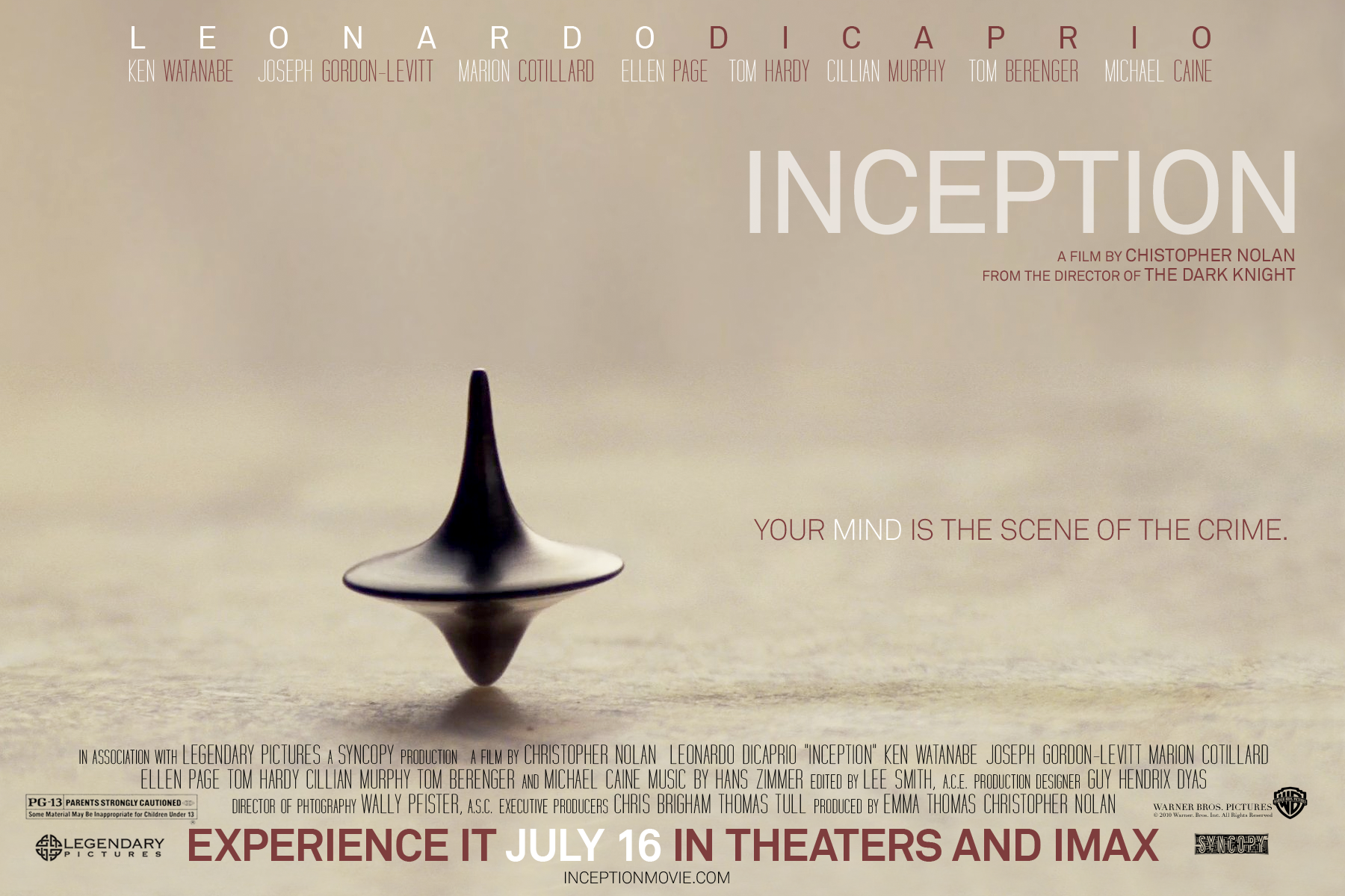 The movie inception