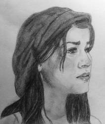 Samantha Barks Portrait