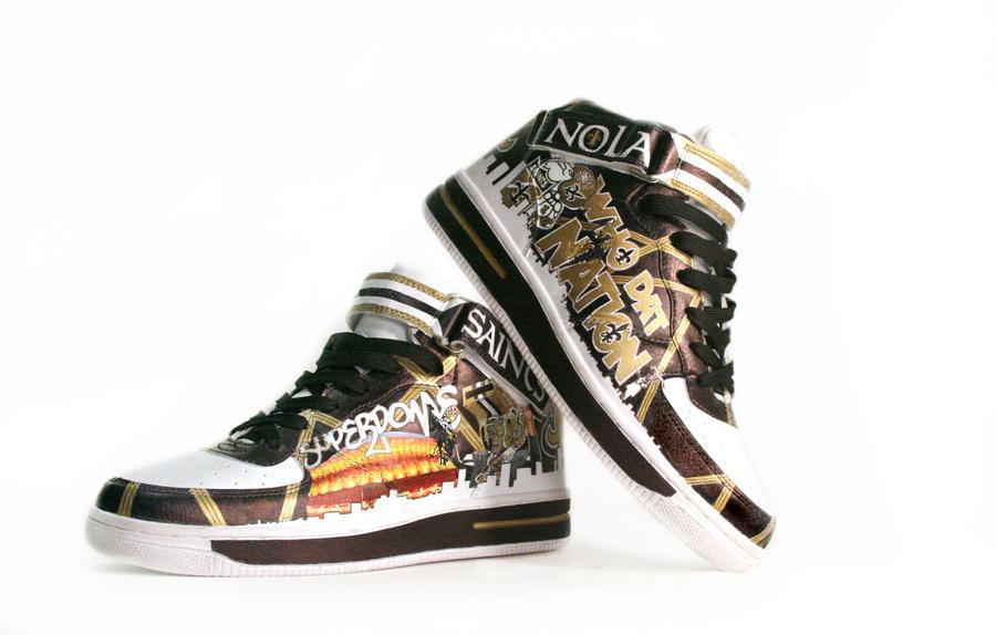 Womens New Orleans Saints Shoes
