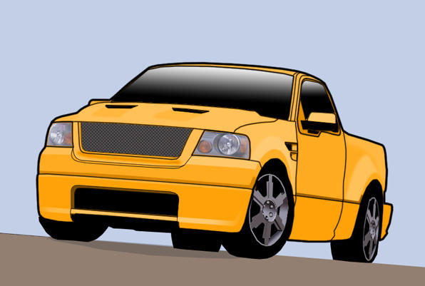 Ford f150 vector by rixl2olf on deviantart ford f150 vector by rixl2olf freerunsca Choice Image
