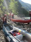 Canoe and sun by jajafilm