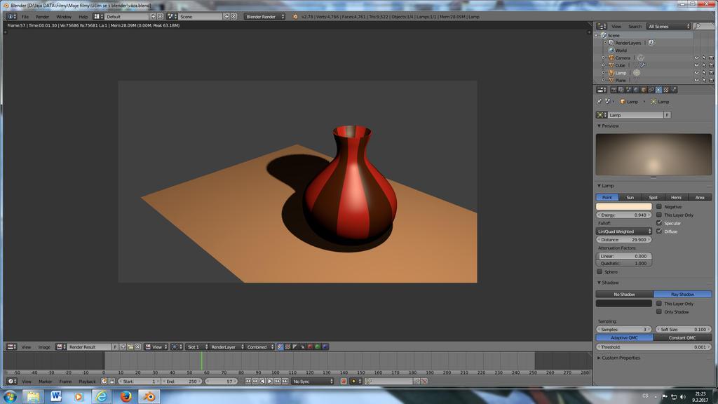 3D vase by jajafilm