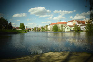 Spring Otava in Pisek by jajafilm