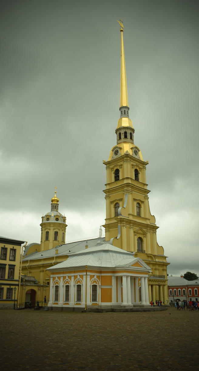 Saints Peter and Paul Cathedral by jajafilm