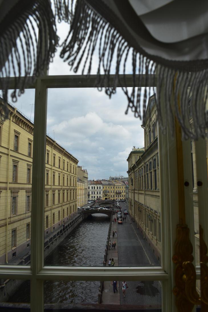 View from window by jajafilm
