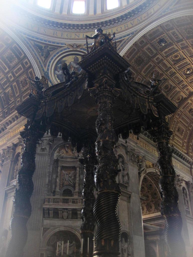 St. Peter's Baldachin by jajafilm