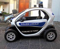 Police car by jajafilm