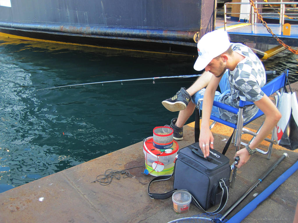 Fisherman by jajafilm