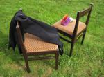 Chairs and neoprene by jajafilm
