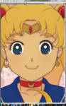 Sailor Moon's Face.