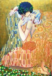Nia and Simon's Kiss by skimlines