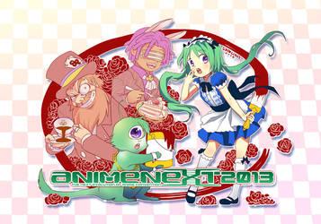 animenext 2013 t-shirt entry by skimlines